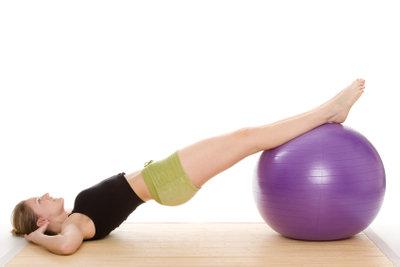 Die Beine lassen sich gezielt trainieren.