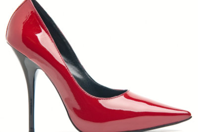 High Heels sehen sexy aus.