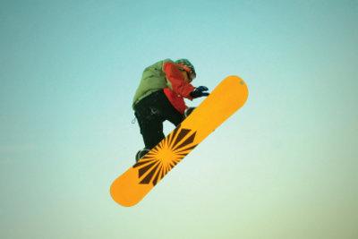 Snowboarding macht Spaß!