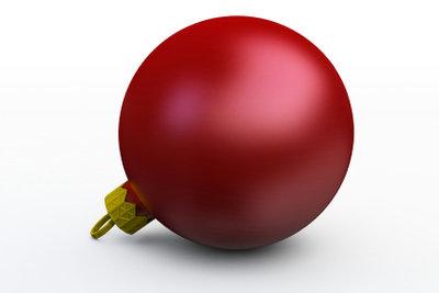 Rot ist eine der typischen Weihnachtsfarben.