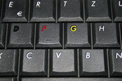 Deutsche Tastaturbelegung einschalten