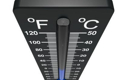 So lesen Sie Temperaturen ab.