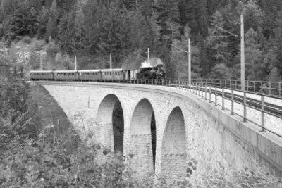 Reisen mit der Bahn.