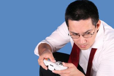 XBox spielen ist ein beliebter Zeitvertreib.