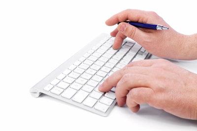 Mit der Tastatur kann man kopieren.