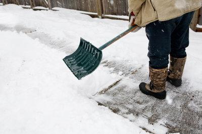 Für den Winterdienst entstehen Kosten.