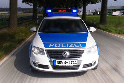Unterwegs bei der Polizei