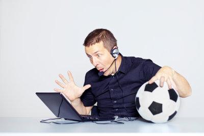 Sportkommentator ist für viele ein Traumberuf.