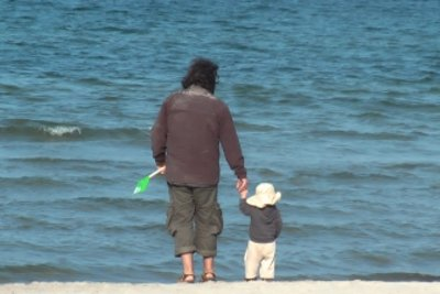 Vater und Sohn: eine starke Verbindung