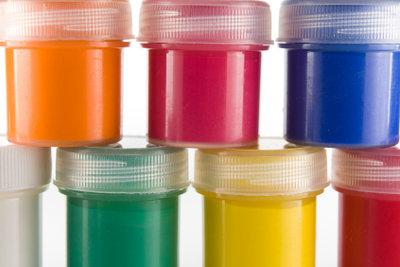 Mit Farben wird die Welt bunt.