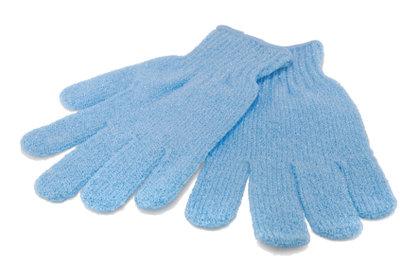 Blaue Handschuhe für Ihr Kostüm.