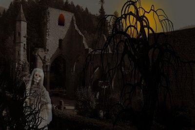 Viele Menschen fürchten Geister im Haus.