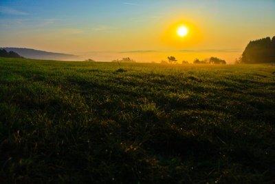 Lassen Sie die Sonne aufgehen.