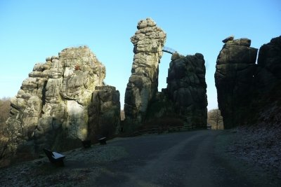Die berühmteste Steingruppe des Teutoburger Waldes