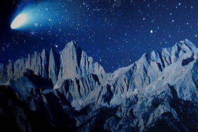 Kometen passieren häufig die Erde.
