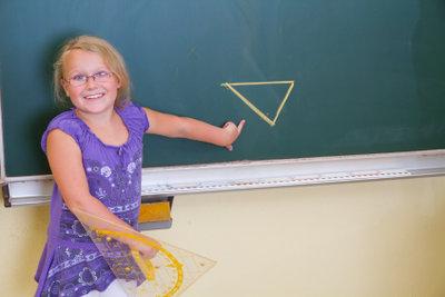 Innenkreise lassen sich in Dreiecke zeichnen.