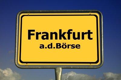 Frankfurt ist Börsenzentrum.