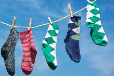 Ein bunter Geburtstag mit bunten Socken