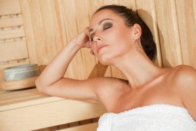 Sauna ist entspannend!