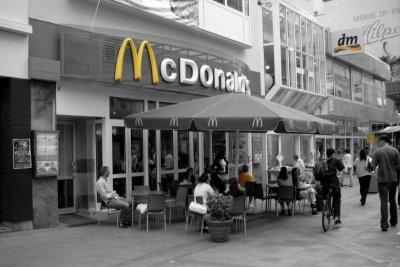 McDonald's Filialen gibt es weltweit.
