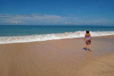 Genießen Sie Ihren Sommerurlaub am Meer.