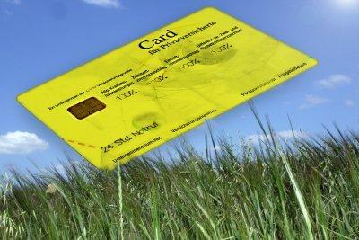Versicherungsnummer auch auf Card für Privatversicherte.