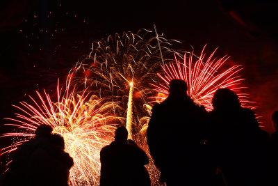 Feuerwerk in der Schweiz erleben