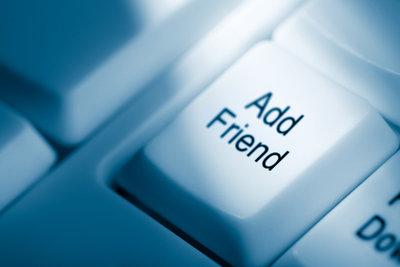 Heute sind Freunde leicht erreichbar.