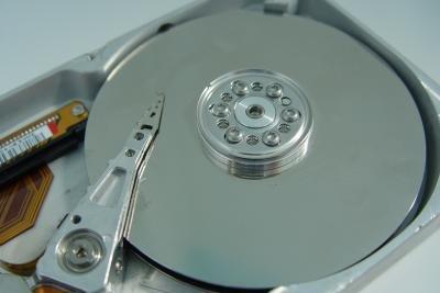 Auch Festplatten können kaputt gehen.