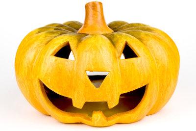 Halloween-Kostüme können Sie schnell selber machen.
