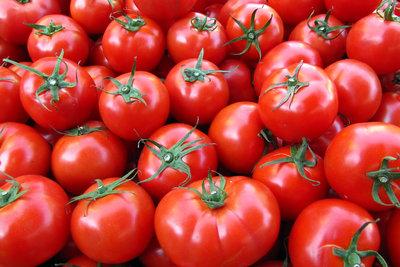 Tomaten lassen sich sehr einfach häuten.