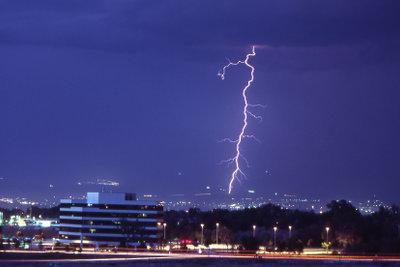 Blitze habe enorme Zerstörungskraft.