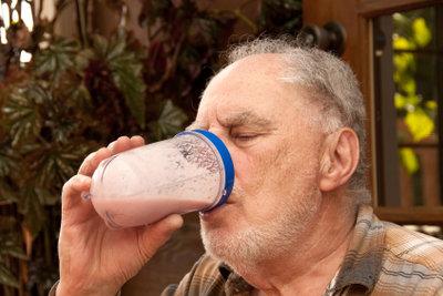 Milchshakes schmecken auch der älteren Generation.