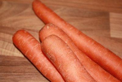 Karotten sind sehr gesund.