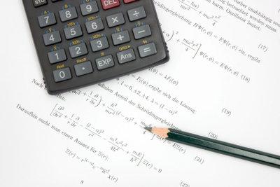 Für Naturwissenschaften haben Gleichungen große Bedeutung.