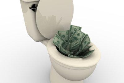 Entfernen Sie erfolgreich Würmer im WC.