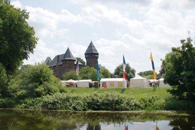 Eine mittelalterliche Burg