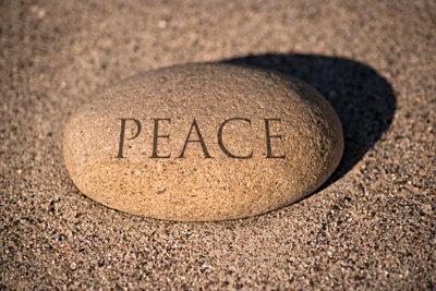 Indivduell gravierte Steine sind wunderbare Geschenke.