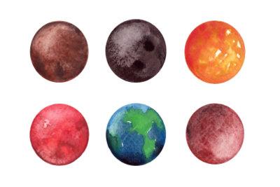 Vielleicht liefern Farben und Planeten Ideen.