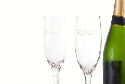 Ein Glas individuell markieren