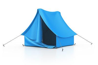 So pflegen Sie Ihr Zelt richtig.