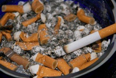 Vorsicht mit Ionisierern bei Zigarettenqualm.