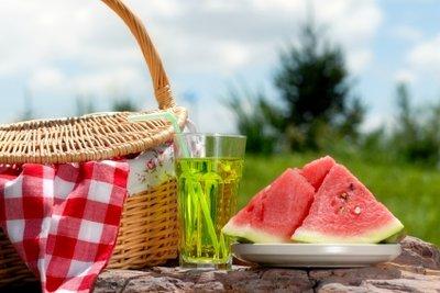 Ein Picknick gehört zum August dazu.