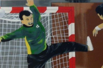 Handball ist ein taktischer Sport.