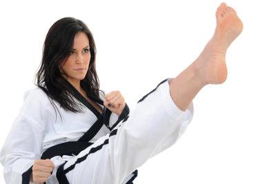 Karate macht Sie fit.