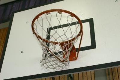 Sie müssen kein echtes Basketballnetz machen.