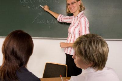 Sich im Unterricht richtig verhalten
