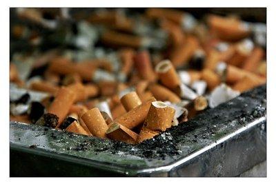 Nikotingeruch ist schwer zu entfernen.