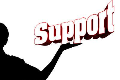 Nur der Support ändert den Namen.