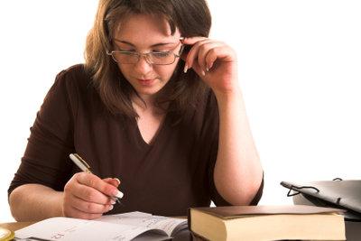Ein Anschreiben kann geschäftlich sein.